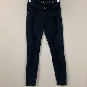Cotton On The Ripped Skinny Jeans - 0385